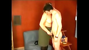 Russian Mom And Son 001