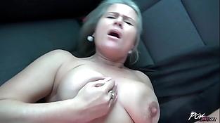 Czech mature blond squirts