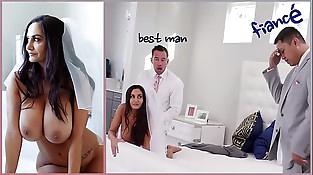 BANGBROS - Big Tits MILF Bride Ava Addams Fucks...