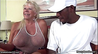 72 year old Grandma Hungers Big Black Cock