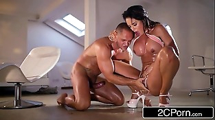 Big Tit Franceska Jaimes vs Nacho Vidal - Rough Blowjob &amp_ Squirt