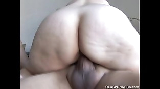 Lovely and cuddly mature honey is a super hot fuck