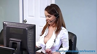 Big Tits at Work - Compilation - Amia Miley, Dillion Harper, and more...