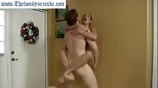 hot mummy mom challenges son to wrestle and gets fucked hard--Thefamilysextube.com