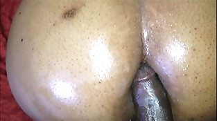 STEP MOM Leans OVER AND LETS ME CUM IN HER ASSHOLE