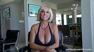 Fat Titty Mummy Gets Big Cum Blast Facial
