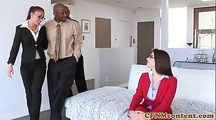 Cfnm female domination Valentina Nappi ass fucked