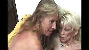 Two French Mature Women Rimming And Strapon A Stud