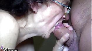 OldNanny Mom and Teenager masturbating and sucking dick tweak