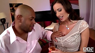 Early days Interracial for Buxomy Lovemaking Goddess Sensual Jane