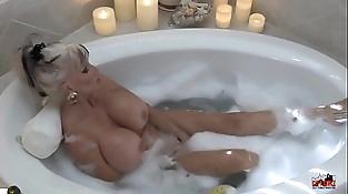 Hot MIlf in Bubble Bath - Sally D'_angelo