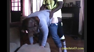 Milf housewife cheats with youthfull black neighbor