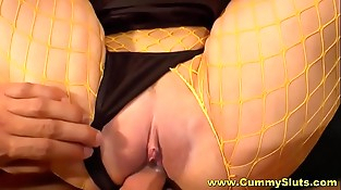 Jizz Galore For Cum Hungry Milf Slut