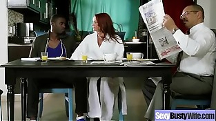 Sex Tape With Bigtits Wife In Hard-core Porno vid-08