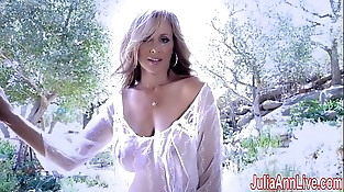 SuperStar Mummy Julia Ann in Sheer!