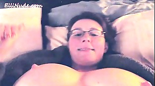 self shot as I masturbate and jism in bed