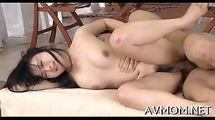Trampy mamma fondled and fucked