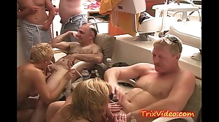 Whoring Whore Housewives on a YACHT