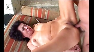 Granny gets ass fucking from grandpa