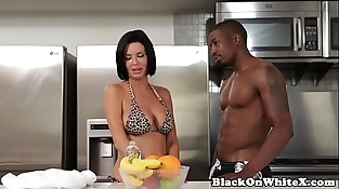 Interracial analized milf railing stepsons BBC