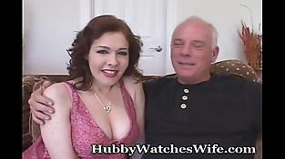 Horny Redheaded Wifey Takes Black